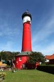 Lighthouse Wangerooge Stock Photo