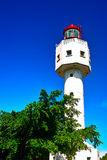 Lighthouse at weizhou island Royalty Free Stock Photography