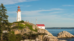 Lighthouse in West Vancouver, British Columbia, Canada Royalty Free Stock Photography