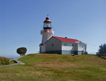 Lighthouse, Westcoast trail, Canada Royalty Free Stock Images