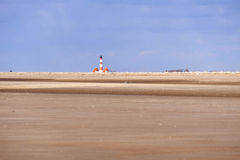 Lighthouse Westerhever, Germany Stock Photos