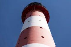 Lighthouse Westerheversand in Westerhever Stock Images