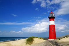 Lighthouse. Westkapelle, Netherlands Stock Image