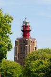 Lighthouse in Westkapelle, Netherlands Royalty Free Stock Images