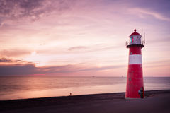 Lighthouse Westkapelle NL royalty free stock photos