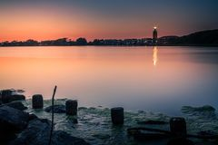 Lighthouse. In Westkapelle, Zeeland, Netherlands Royalty Free Stock Images