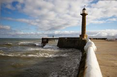 Lighthouse, Whitby Royalty Free Stock Photo