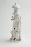Lighthouse on white background Royalty Free Stock Image