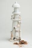 Lighthouse on white background Stock Photos