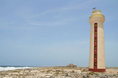 Lighthouse Willemstoren, Bonaire Stock Photo