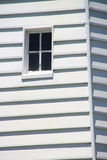 Lighthouse Window. A close up on a cute little white lighthouse window Royalty Free Stock Photo