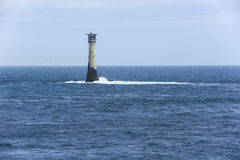 Lighthouse Wolf Rock Royalty Free Stock Photo