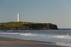 Wollongong Lighthouse, Flagstaff Hill Park Stock Photo