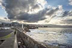 Lighthouse in Wollongong Australia. South of Sydney stock images