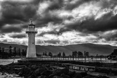 Lighthouse in Wollongong Australia. South of Sydney Royalty Free Stock Image