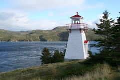 Lighthouse Woody Point Stock Image
