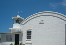 Lighthouse at Yamba. Stock Image