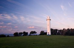 Lighthouse at yamba Stock Image