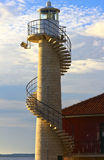 Lighthouse in Zadar. View of lighthouse in Zadar. Croatia Stock Photo