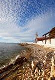Lighthouse in Zadar. Croatia. Stock Photos