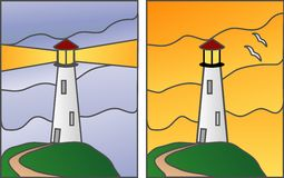 Lighthouses Royalty Free Stock Photo