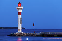 Lighthouses in Cannes Stock Photography