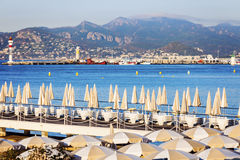 Lighthouses in Cannes Stock Photo