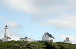 Lighthouses of Cape Spear Newfoundland Royalty Free Stock Image