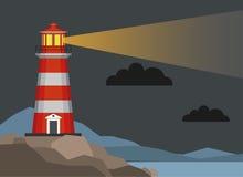 Lighthouses 2 stock illustration