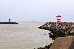 Lighthouses in the Hague (Den Haag) Royalty Free Stock Photo