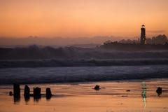 Lighthouses Pacific Coast California Walton Lighthouse Santa Cruz Royalty Free Stock Photos