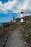 Lighthouses, Punto de Fuencaliente, La Palma Stock Images