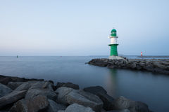 Lighthouses at Rostock-Warnemunde Royalty Free Stock Photos