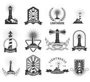 Lighthouses Stock Image