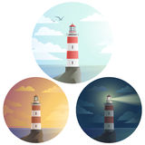 Lighthouses Stock Image