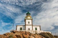 Lighthpuse. Lighthouse, Santorini, Greece Stock Photography