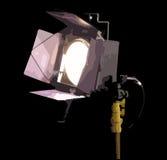 Lighting. Stage light shining with black/dark background illustration Vector Illustration