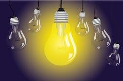 lighting ilustração stock