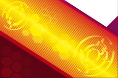 Lighting abstract technology background Royalty Free Stock Images