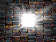 Lighting av kunskap Fotografering för Bildbyråer
