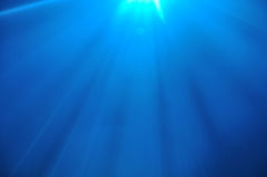 Lighting background. Abstract background formed by blue spotlighting at a live performance Royalty Free Stock Image
