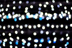 Lighting blurred bokeh abstract background.  Royalty Free Stock Photo
