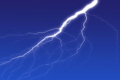 Lighting bolt Royalty Free Stock Images