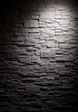 Lighting brick wall Stock Photos