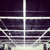 Lighting inside a store. Lighting inside a big store Royalty Free Stock Photography
