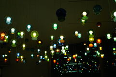 Lighting bulbs Royalty Free Stock Photo