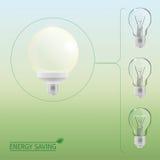 Lighting bulbs Stock Image