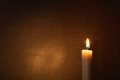Lighting Candle Stock Images