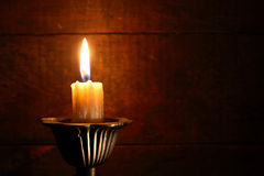 Lighting Candle Royalty Free Stock Photos