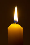 Lighting candle Stock Image